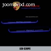 Porsche Cayenne Car accessory LED moving door scuff led stai