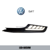 Volkswagen VW Golf 7 DRL LED light guide Daytime Running Lig