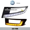 Volkswagen VW Santana DRL LED Daytime Running Lights Car hea