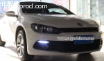 VW Scirocco DRL LED Daytime Running Lights Car headlights pa