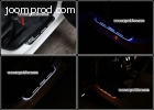 Mazda 3 Axela Car accessory LED moving door scuff led stainl