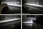 TOYOTA Premio front fog lamp assembly LED DRL lights daytime