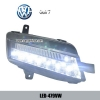 Volkswagen VW Golf 7 DRL LED Daytime Running Lights Car head