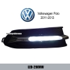 Volkswagen VW Polo 2011-2013 DRL LED Daytime Running Lights