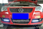 Volkswagen VW Polo DRL LED Daytime Running Lights Car headli